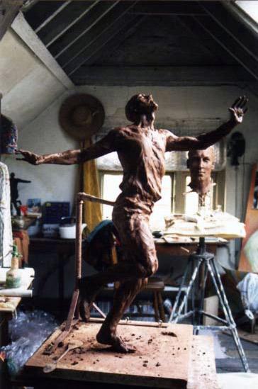 Eric Liddell in Studio