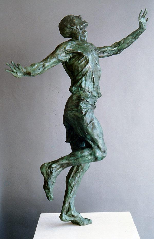 Eric Liddell Bronze Statue