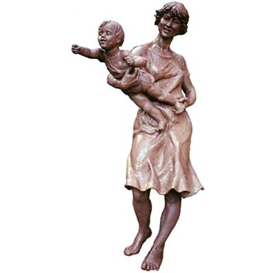 mother and child figurative sculpture