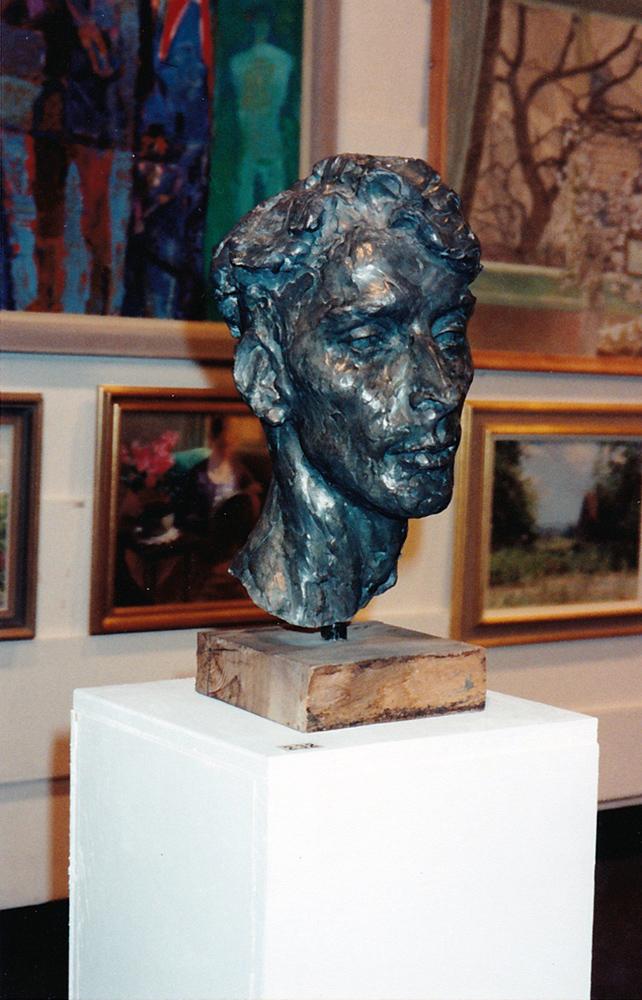 gary-in-bronze-Royal-Academy