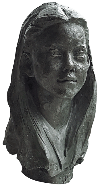 Bronze Portrait of Grace